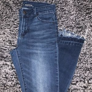 Old Navy Mid Rise Rockstar Jeans